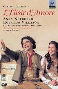 Cover Anna Netrebko / Rolando Villazón - L'elisir d'amore [DVD]